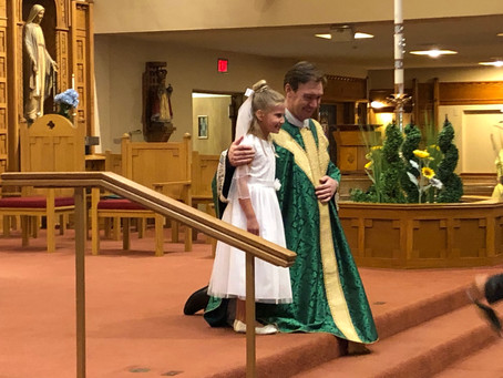 First Eucharist and Confirmation