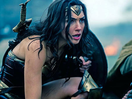 Commission: Wonder Woman Sitting Down