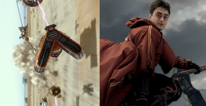 Podracing vs Quidditch: Which is the Better Fictional Sport?
