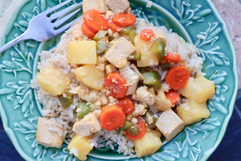 A Kid-Friendly Vegan Meal - Sweet and Sour Stir-Fry