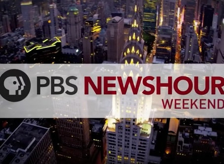 Second spot on PBS NewsHour! With Adam Bedient!