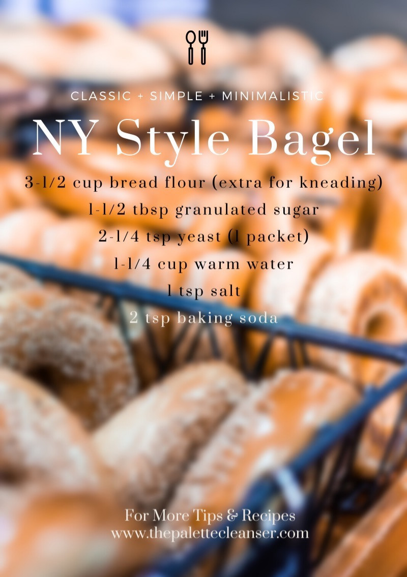 NY Style Bagels Ingredients