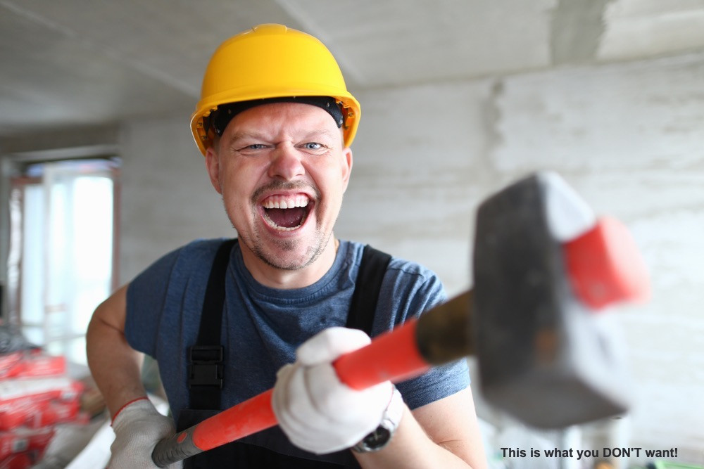 Crazy builder.