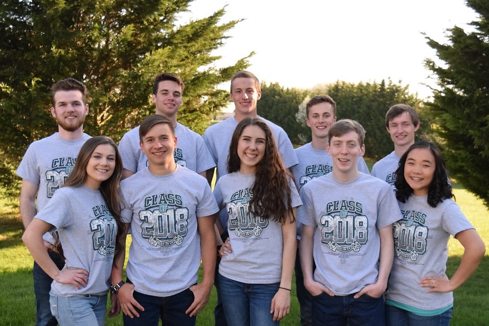 2018 Homegrown Christian Homeschool Co-Op Graduates