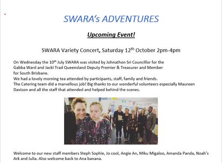 SWARA Adventures!