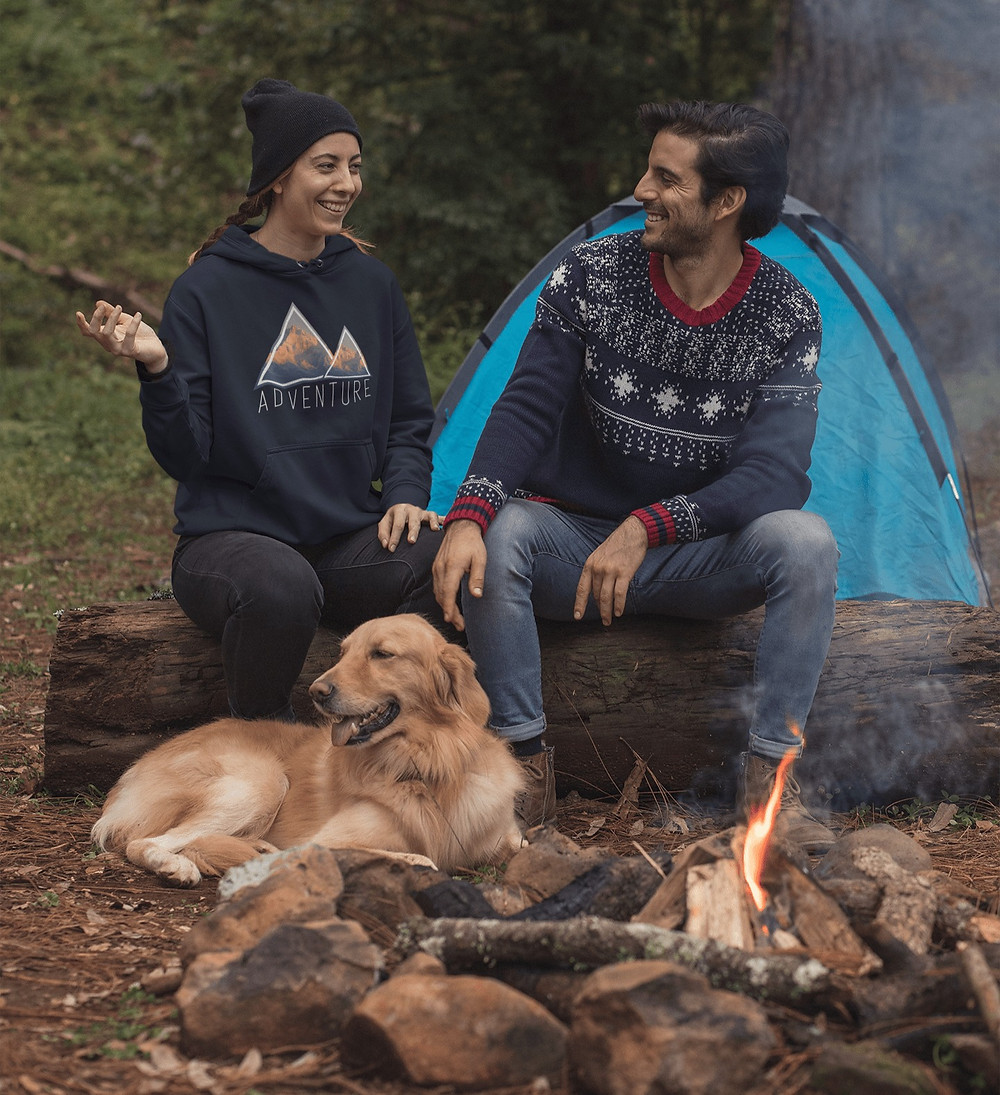 Go camping in fall, the perfect outdoor fall activity