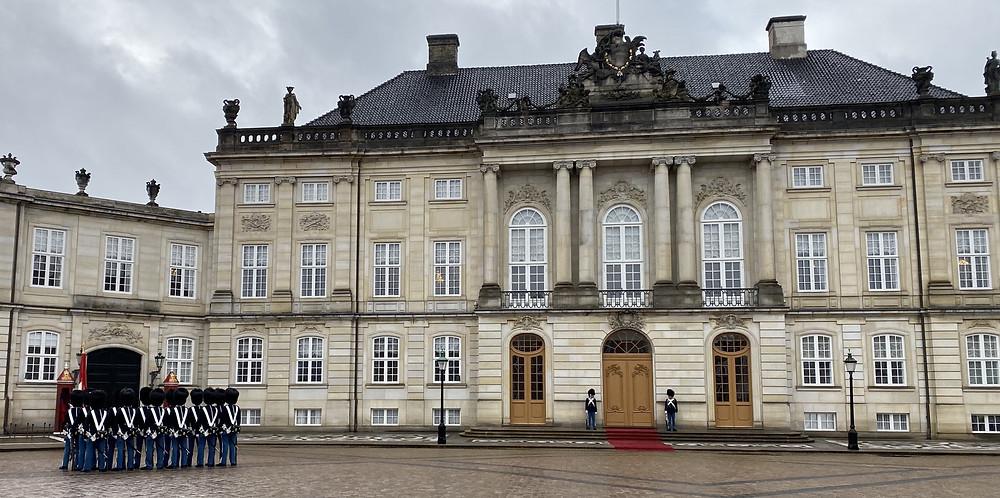 Visiter Amalienborg Copenhague