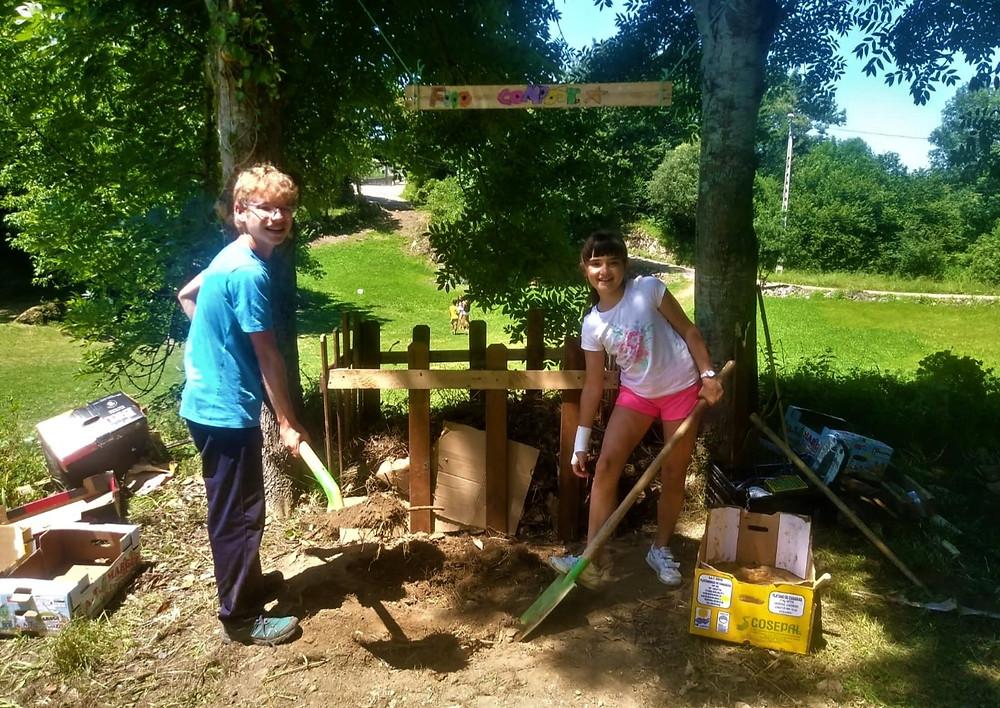 Compost summer camps