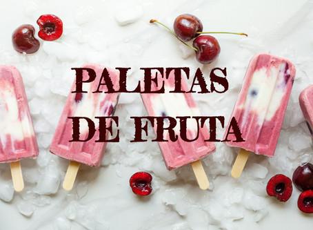 Paletas de helado