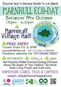 Marnhull Eco Day - 19th October 2019