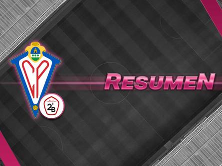 Resumen del Recreativo de Huelva 1 – CP Villarrobledo 1. Pincha sobre la imagen