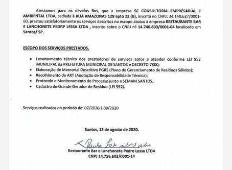 Atestado de Capacidade Técnica_Bar dos Amigos_PGRS_ 13.08.2020