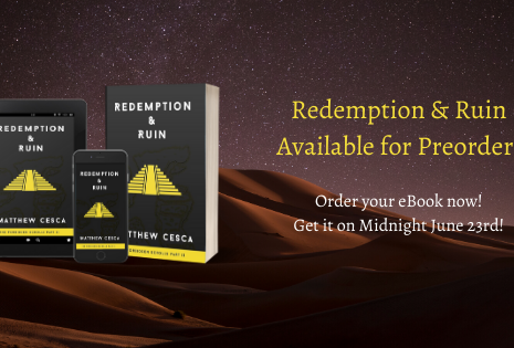 Redemption & Ruin Available for Preorder!
