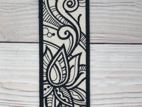 Zen Lotus Bookmark