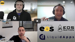 🎬 Everything EOS: Scaling with Child-Chains, Real-Time Gross Settlement, Worker Proposal System...