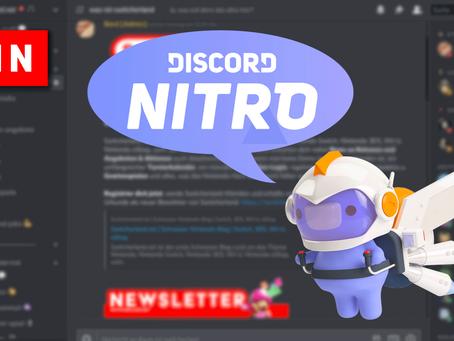WIN | Zur Lancierung des neuen Discord-Servers: Nitro-Jahresmitgliedschaft
