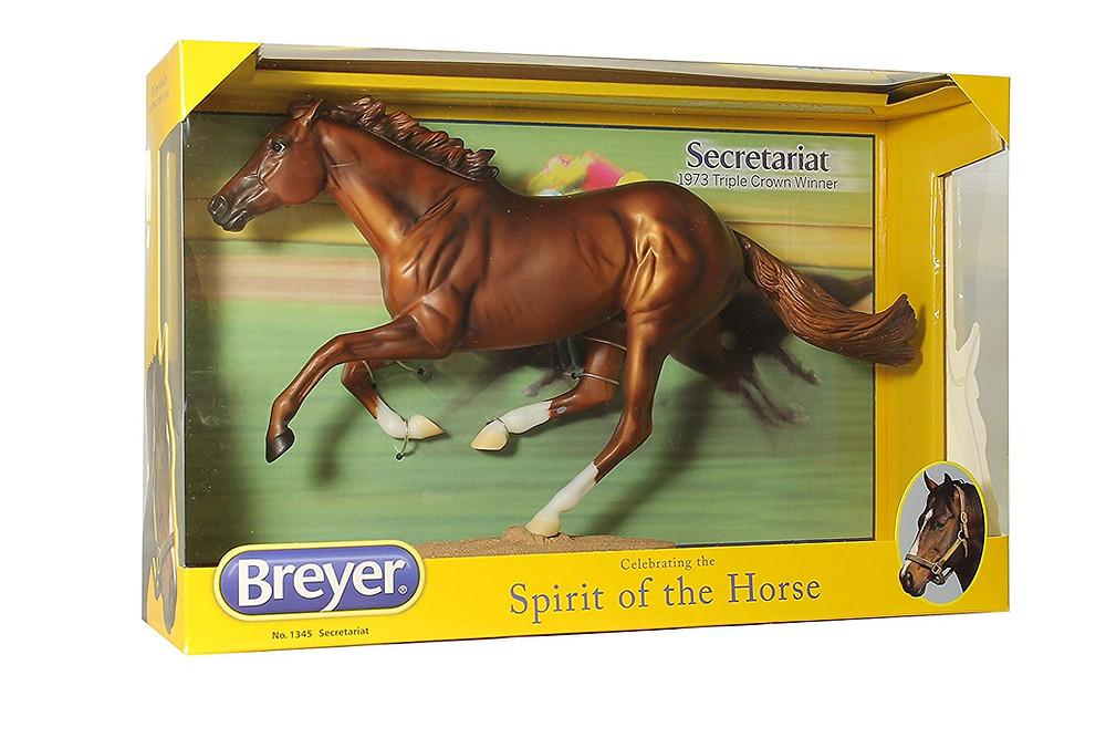 Secretariat, 1973 Triple Crown winner, Breyer Model Horse