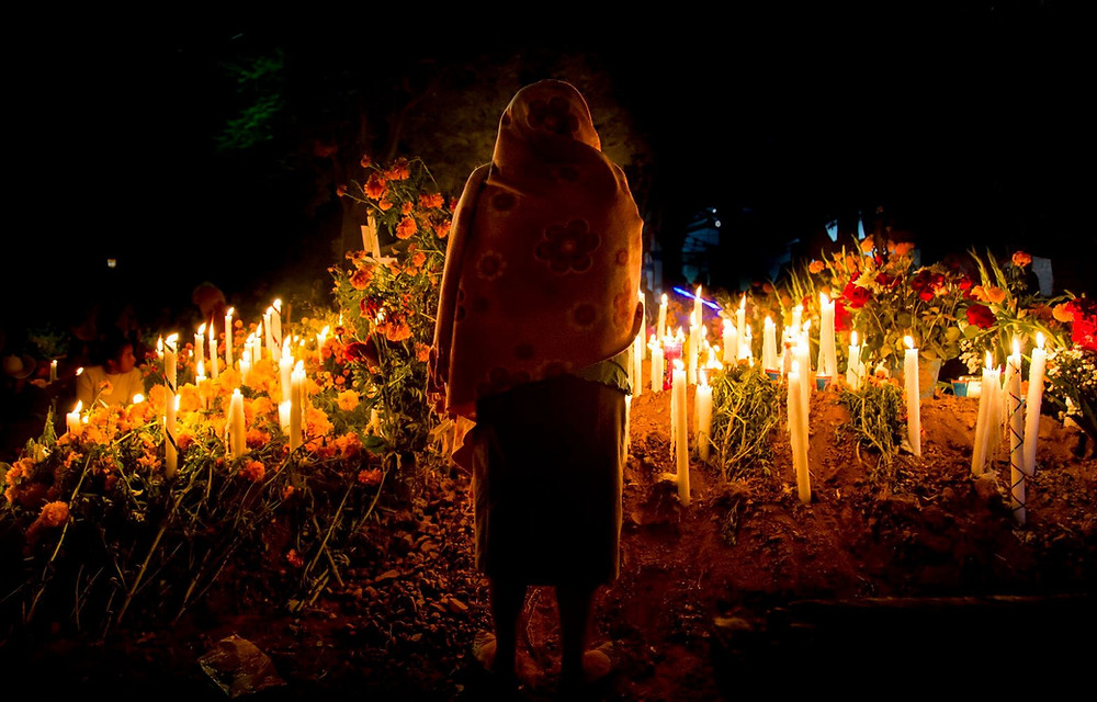 The annual Mexican festival of Dia de los Muertos is a visual feast