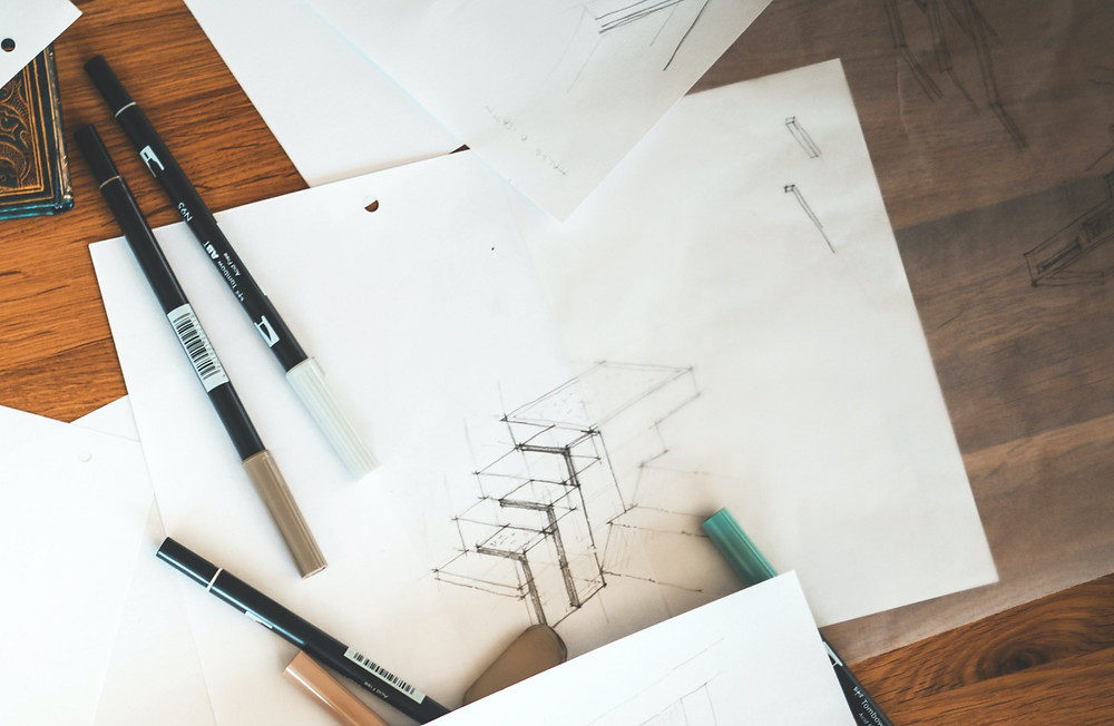 archiol - 10 tips to sketch like an architect - Use tracing paper to sketch