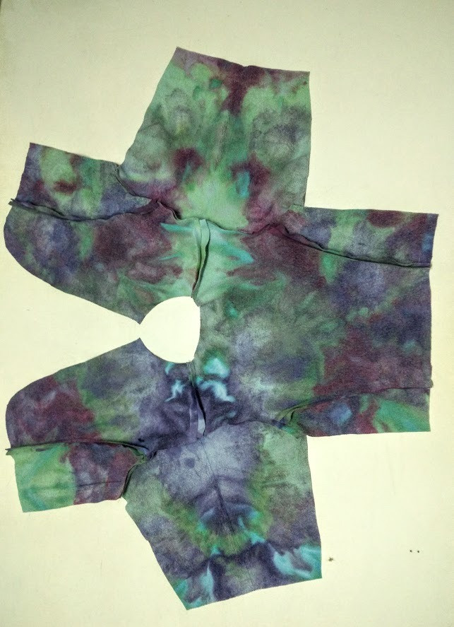 Aerial view of shirt