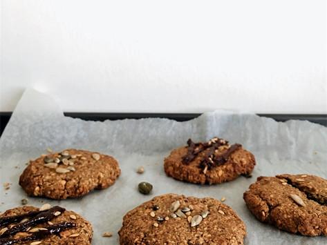 One-Bowl Vegan Almond Butter Cookie Recipe