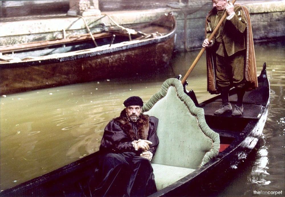 Jeremy Iron en Gondola