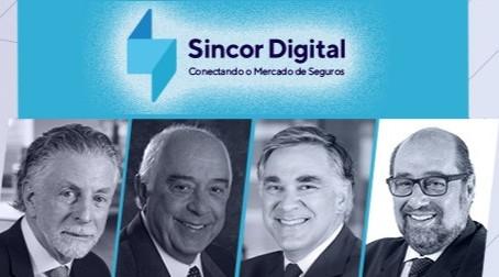 Sincor Digital terá palestra com Jayme Garfinkel, Nilton Molina e Patrick Larragoiti
