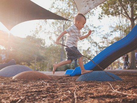 Parent Tips: Shifting Playground Surfaces Can Improve Your Child's Balance and Motor Control