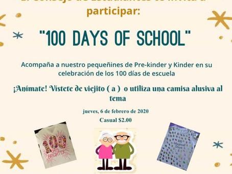 Celebremos los 100 días de clase