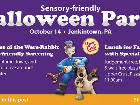 Be Like Buddy's First Ever Sensory Friendly Halloween Party!