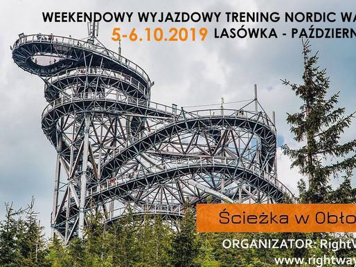 """Lasówka/Dolni Morawa, """"Nordic walking w górach - Ścieżka w obłokach - wyjazdowy trening NW"""
