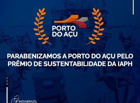PORTO DO AÇU VENCE PRÊMIO INTERNACIONAL DE SUSTENTABILIDADE DA IAPH