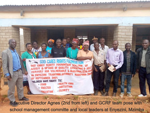GCRF launches project to help marginalized children in Mzimba