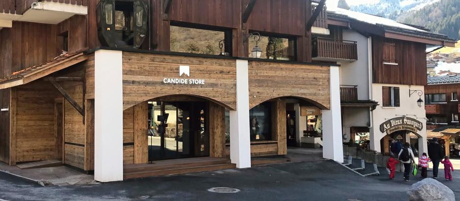 Création du Candide Store à La Clusaz