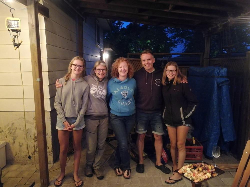 Tour du monde à vélo en famille Canada recontres