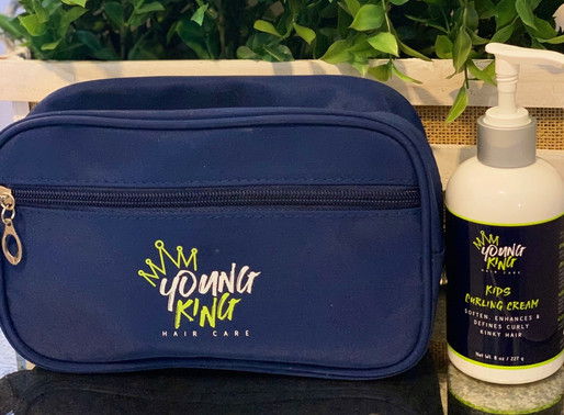 [Giveaway] Enhance your Son's Crown with Young King Hair Care