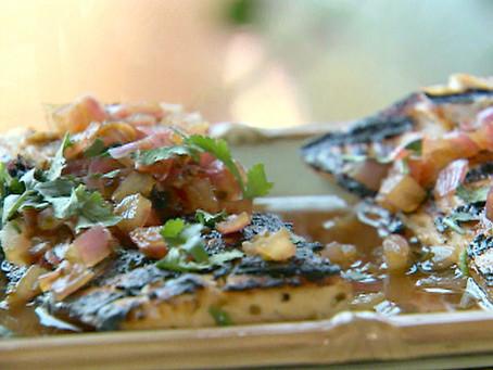 Grilled Mahi-Mahi, Ceviche-Style