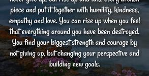 Adversity...