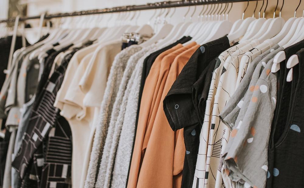 importação e exportação de roupas