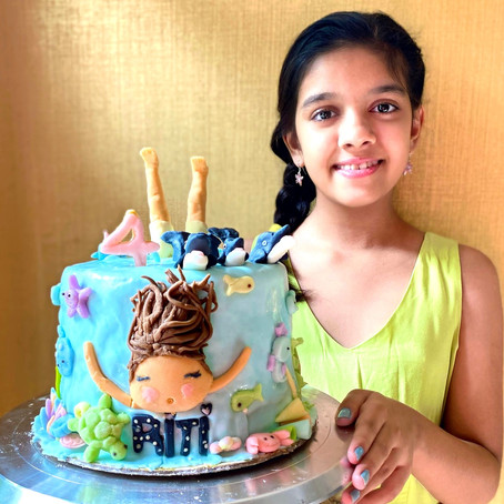 Riti's dream cake and it's very unique story!