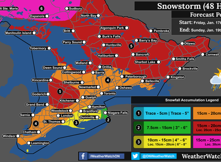 Biggest Snowstorm of the Season for Southern Ontario