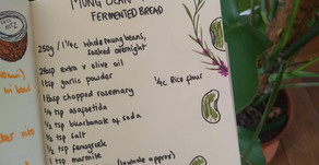 Mung Bean & Rosemary Fermented Bread