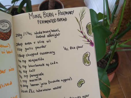 Mung Bean & Rosemary Fermented Bread