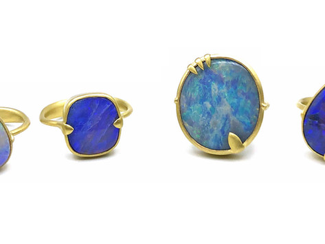 New Releases: Amazon Opal Rings