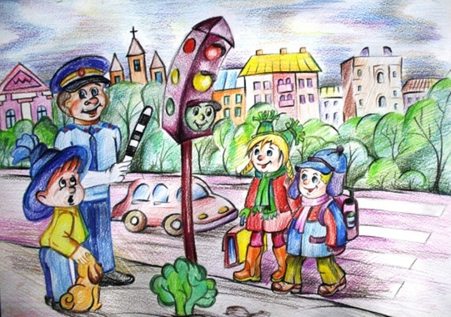 картинки на тему дорожного движения на конкурс даром