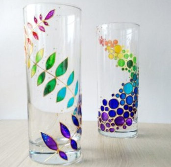 How to Create a Glass Painting