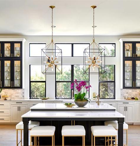 Traditional Transitional Mixed Metal Kitchen Design BLOG: Mern Interior Design