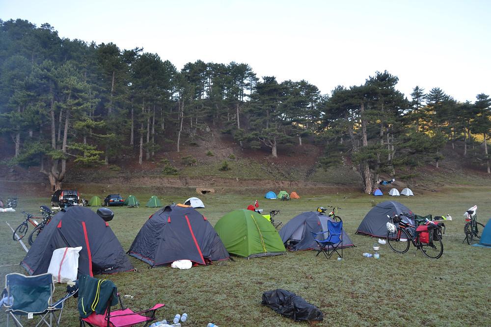 Kamp Alanımızdan Görüntü