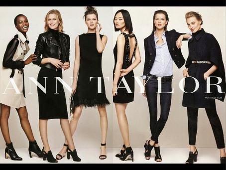 美國女孩最愛的上班穿搭服飾品牌Ann Taylor。全站六折起