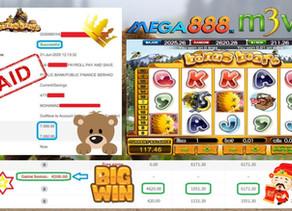 Bonus Bear slot game tips to win RM7000 in Mega888